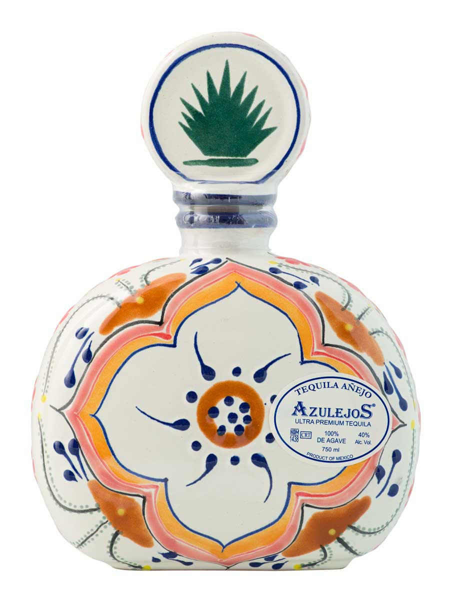 Talavera Flower Bottle