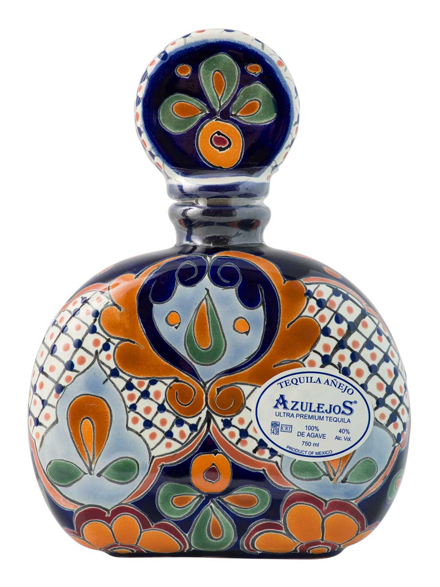 Talavera Red Bottle